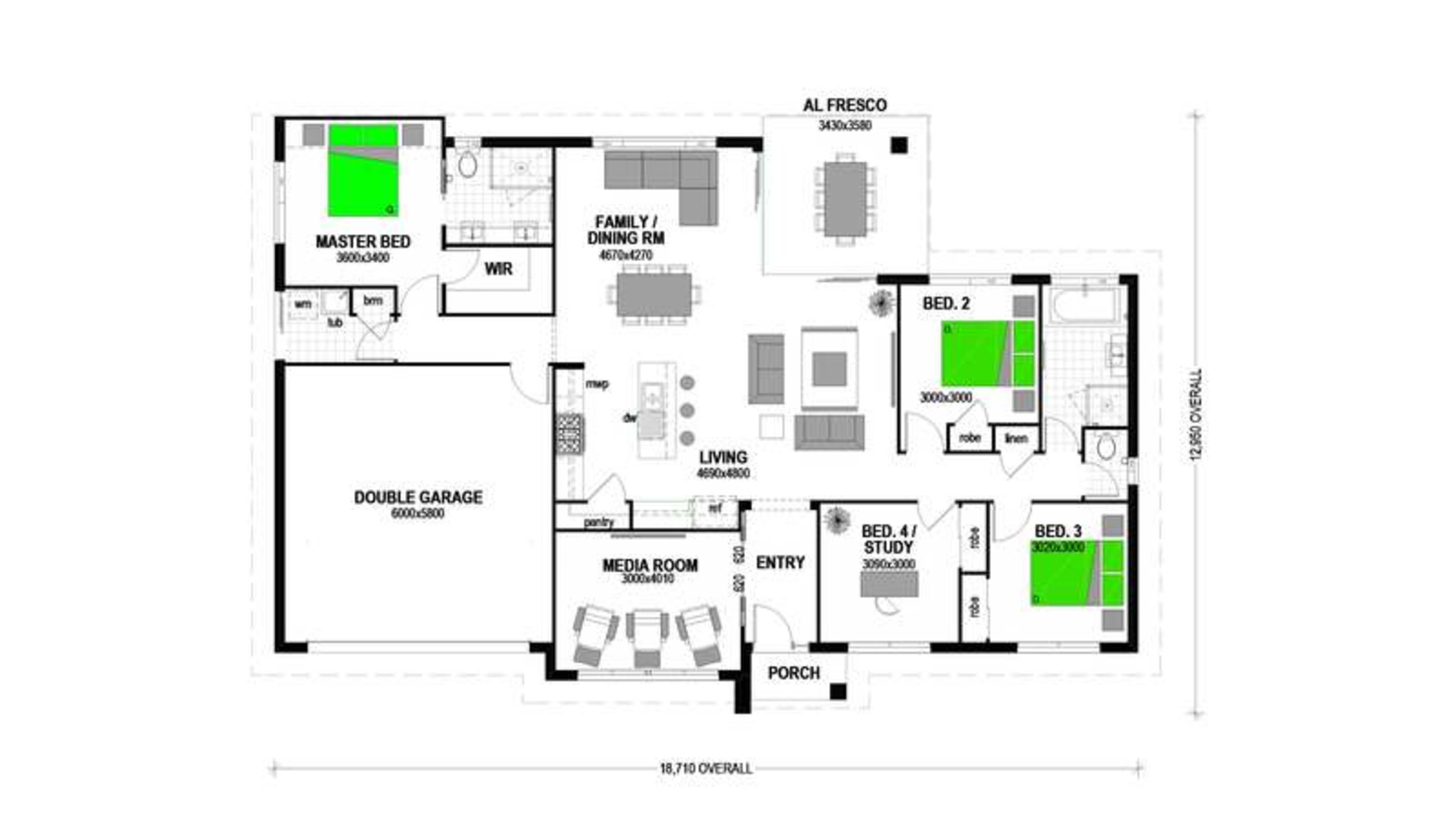 LOT 460 NORTH HARBOUR BURPENGARY EAST Floorplan