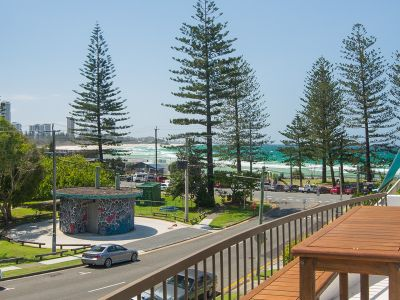 Almost Beachfront Duplex... Highly Sought After Burleigh Headland