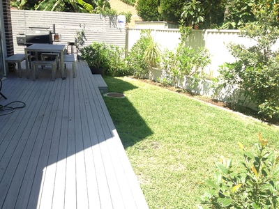 2 BEDROOM 2 BATH PARKING TOWNHOUSE WITH GARDEN IN MAROUBRA AIRCON
