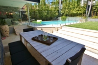 MOSMAN 5BR 3BATH F/F HOUSE. WATER VIEWS, HUGE ENTERTAINING AREAS, POOL, PARKING.