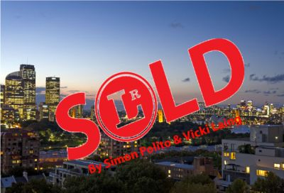 RECORD SALE IN THE BUILDING - SOLD BY SIMON POLITO & VICKI LAING