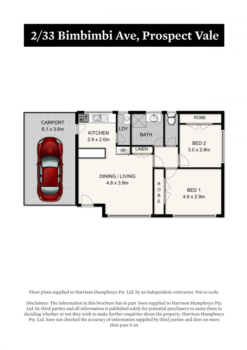 33 Bimbimbi Avenue Floorplan
