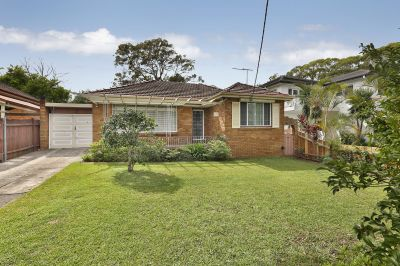 Single level brick home in ideal location