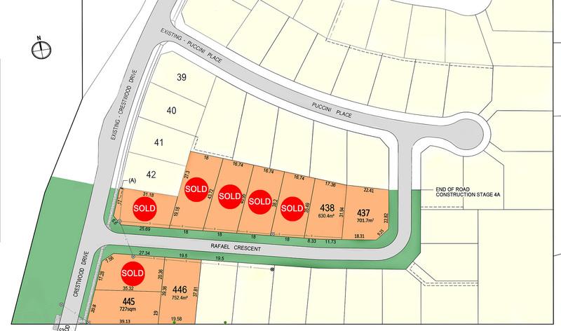 New Land Release – Crestwood Glen Estate – Now Selling