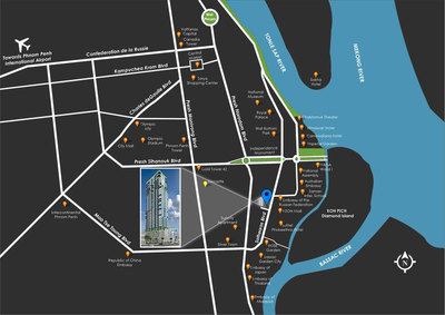 The Penthouse Residence, Tonle Bassac, Phnom Penh | New Development for sale in Chamkarmon Tonle Bassac img 12