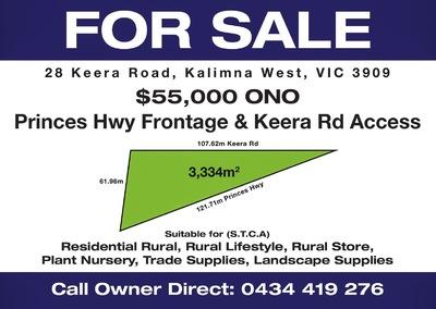 28 Keera Road, Kaliman West, Vic,3909