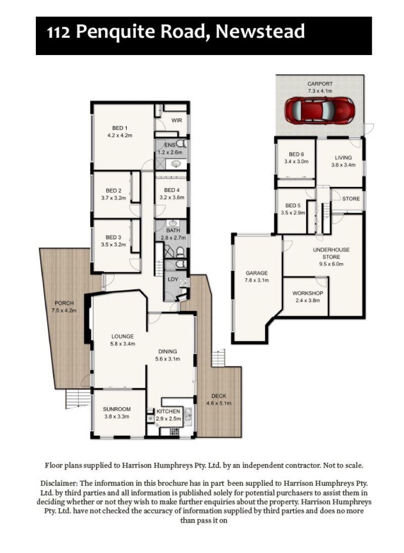 112 Penquite Road Floorplan