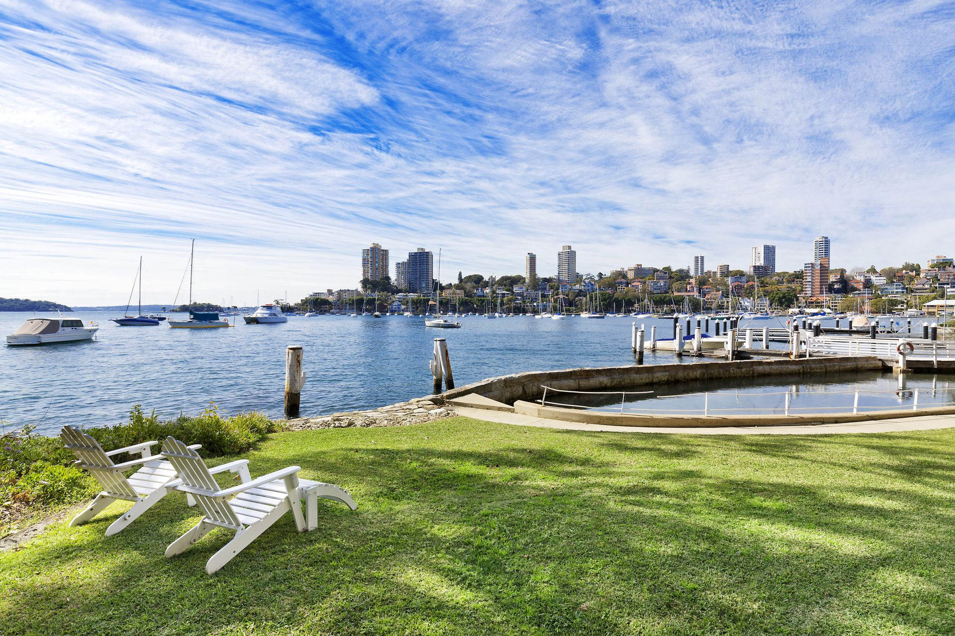 Additional photo for property listing at 'Tresco' historic, lovingly preserved waterfront estate  Elizabeth Bay, New South Wales,2011 Austrália