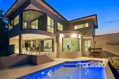 Family Luxury with Unforgettable City Views on a private acre