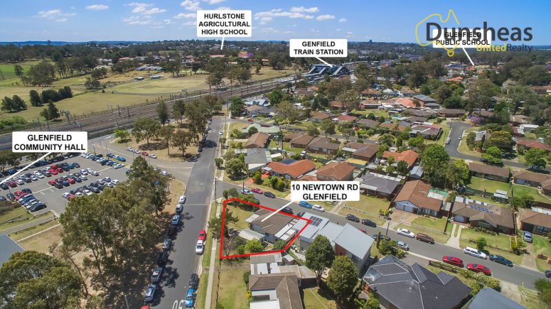 400M TO GLENFIELD STATION