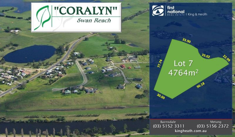 LOT 7, CORALYN DRIVE - SWAN REACH
