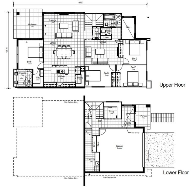LOT 5757 'SPRINGFIELD RISE' SPRING MOUNTAIN Floorplan