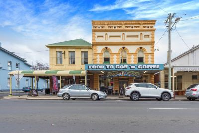 The Grace and Charm of Yesteryear - Freehold Building and Takeaways Business