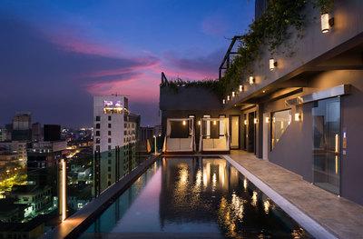 HABITAT  Condo, Tonle Bassac, Phnom Penh | Condo for rent in Chamkarmon Tonle Bassac img 18