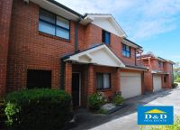 Modern 3 bedroom townhouse. private sunny courtyard. 3 toilets. double garage. walk to parramatta city centre.
