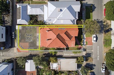 Rear, 128 Grosvenor Road, Mount Lawley