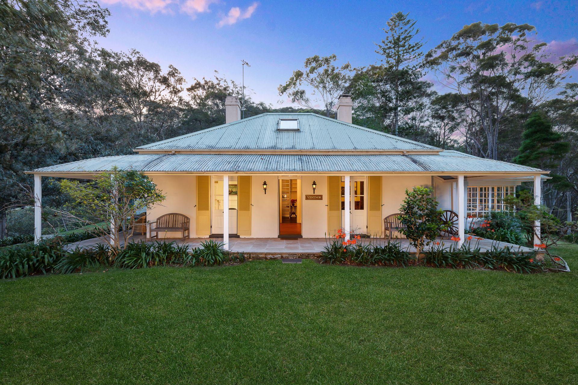 一戸建て のために 売買 アット 'Ventnor' on Elvina Bay – historic Pittwater landholding New South Wales,2105 オーストラリア