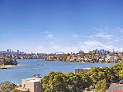 A privileged position with iconic harbour & city views