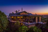Stylish home with Ocean and Headland views