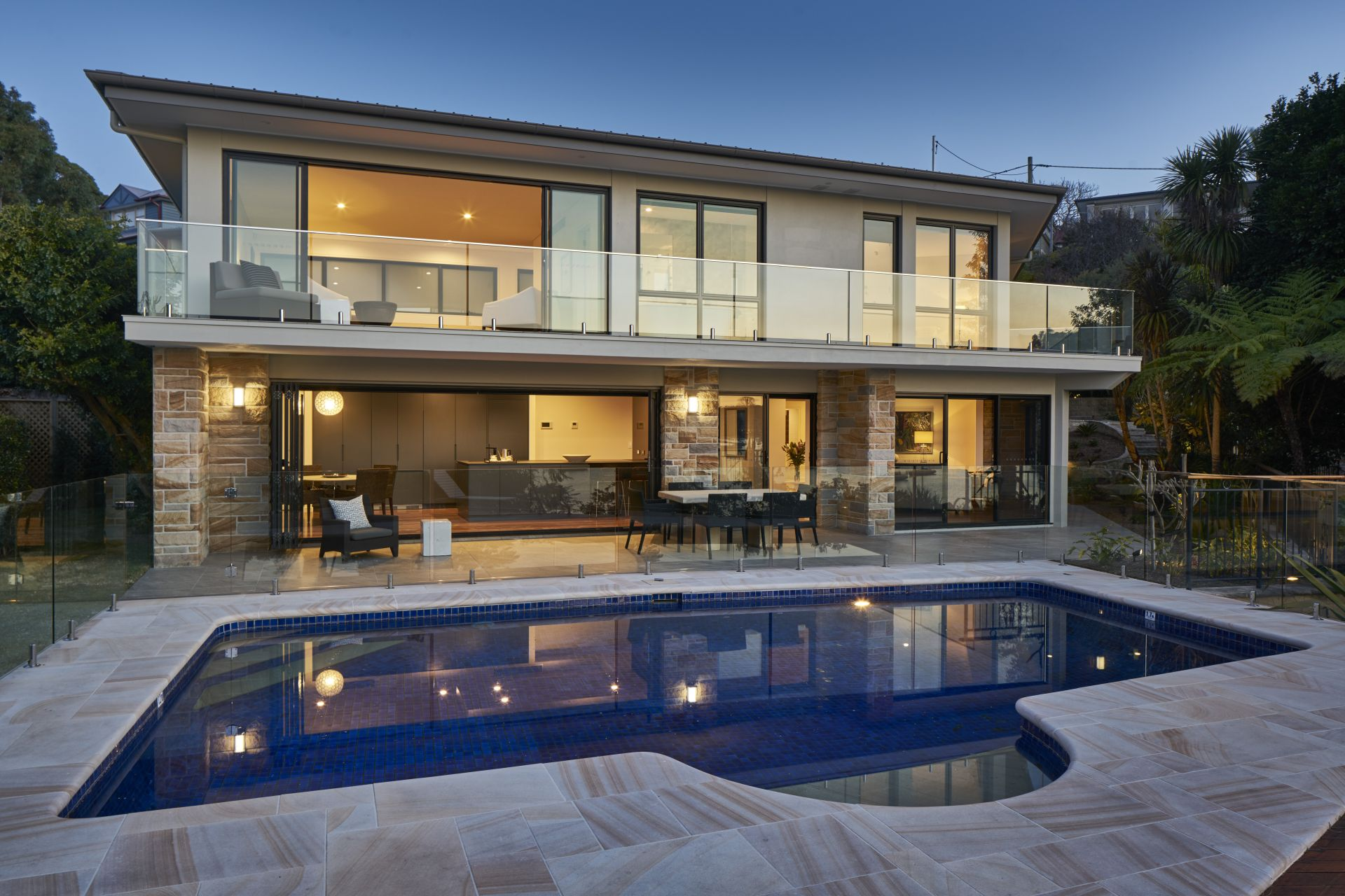Eensgezinswoning voor Verkoop een t Secluded waterfront reserve luxury 6 Collingwood Street New South Wales,2110 Australië