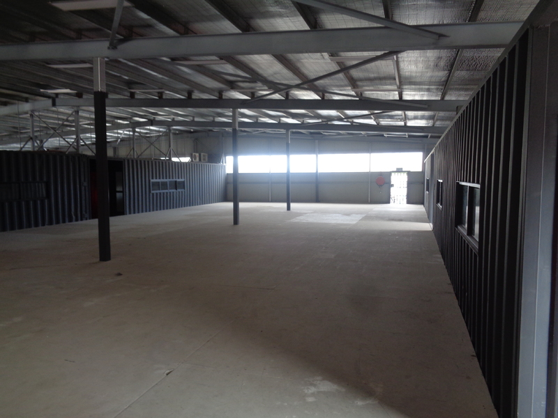 Warehouse for rent in Port Moresby Rainbow Estate
