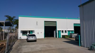 Easy Access Industrial Shed