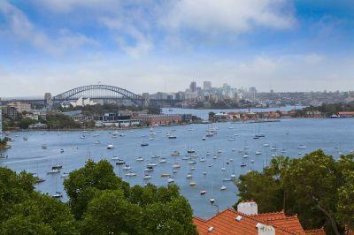 Spacious Apartment With Impressive Harbour Bridge & Opera House Views, Sunny NW Aspect, Balcony & Parking