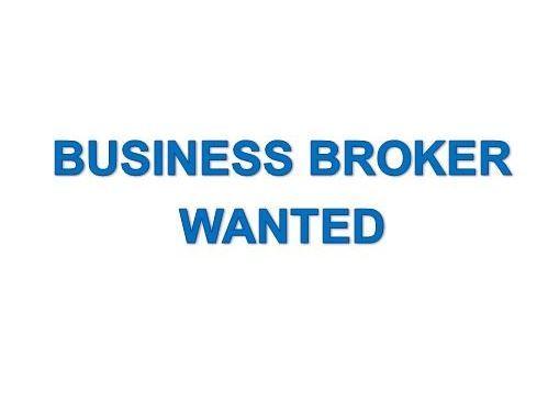 Business Broker Wanted