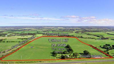 'Clifford Hill' - 29.35HA (72.5 Acres) approx.