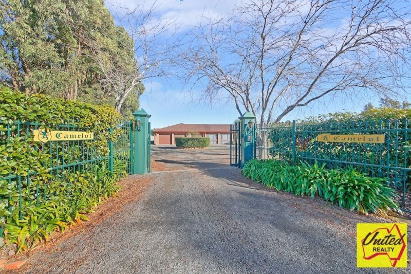Approx. 5 Acres + Substantial Home - Key Location!!