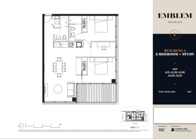 Brand New Two-Bedroom Apartment Resale