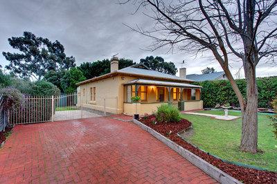 Beautiful bungalow set in established gardens.