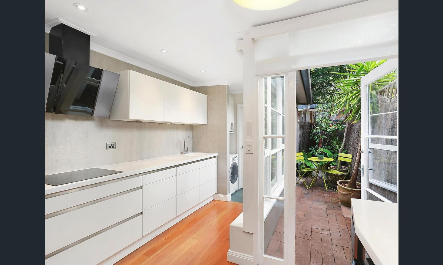Classic and contemporary redesigned terrace in heart of Paddington