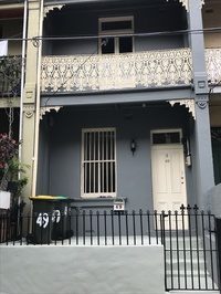 2 bedroom terrace, centrally located