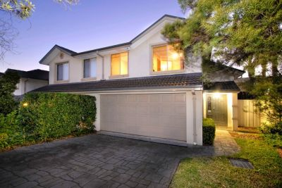 Exceptional townhouse with private street frontage