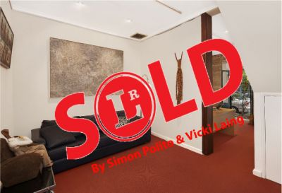 SOLD! Over the Reserve by Simon Polito & Vicki Laing