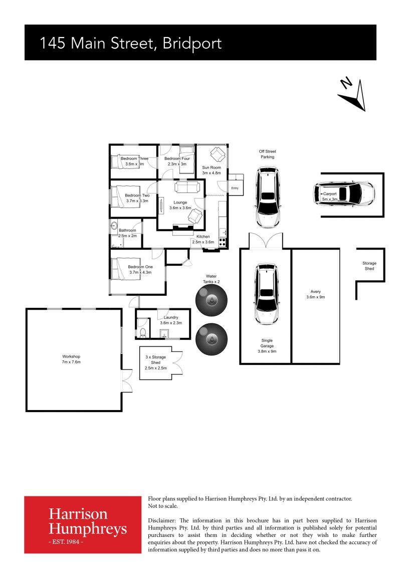 145 Main Street Floorplan