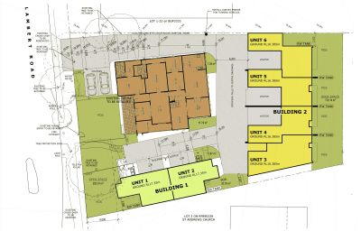 Development Approval For 6 Luxury Townhouses