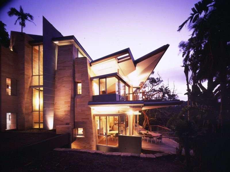 Maison unifamiliale pour l Vente à 'Seasong' Contemporary architectural masterpiece Palm Beach, New South Wales,2108 Australie