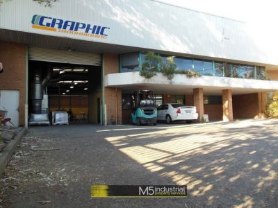 1,148 SQM - FREESTANDING WITH CLEAR SPAN WAREHOUSE