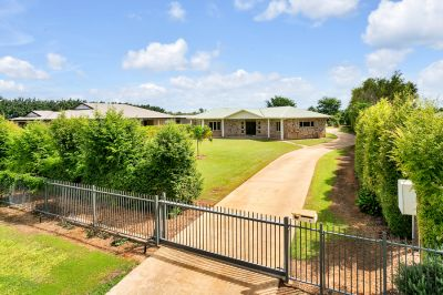 Rural Living At Its Best- Manicured lawns- 3 Bay work shed