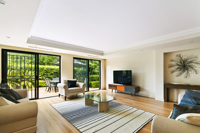 Furnished, Large & Luxurious with Private Garden In the Heart of Double Bay
