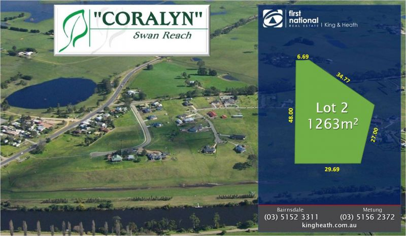 LOT 2, CORALYN DRIVE - SWAN REACH