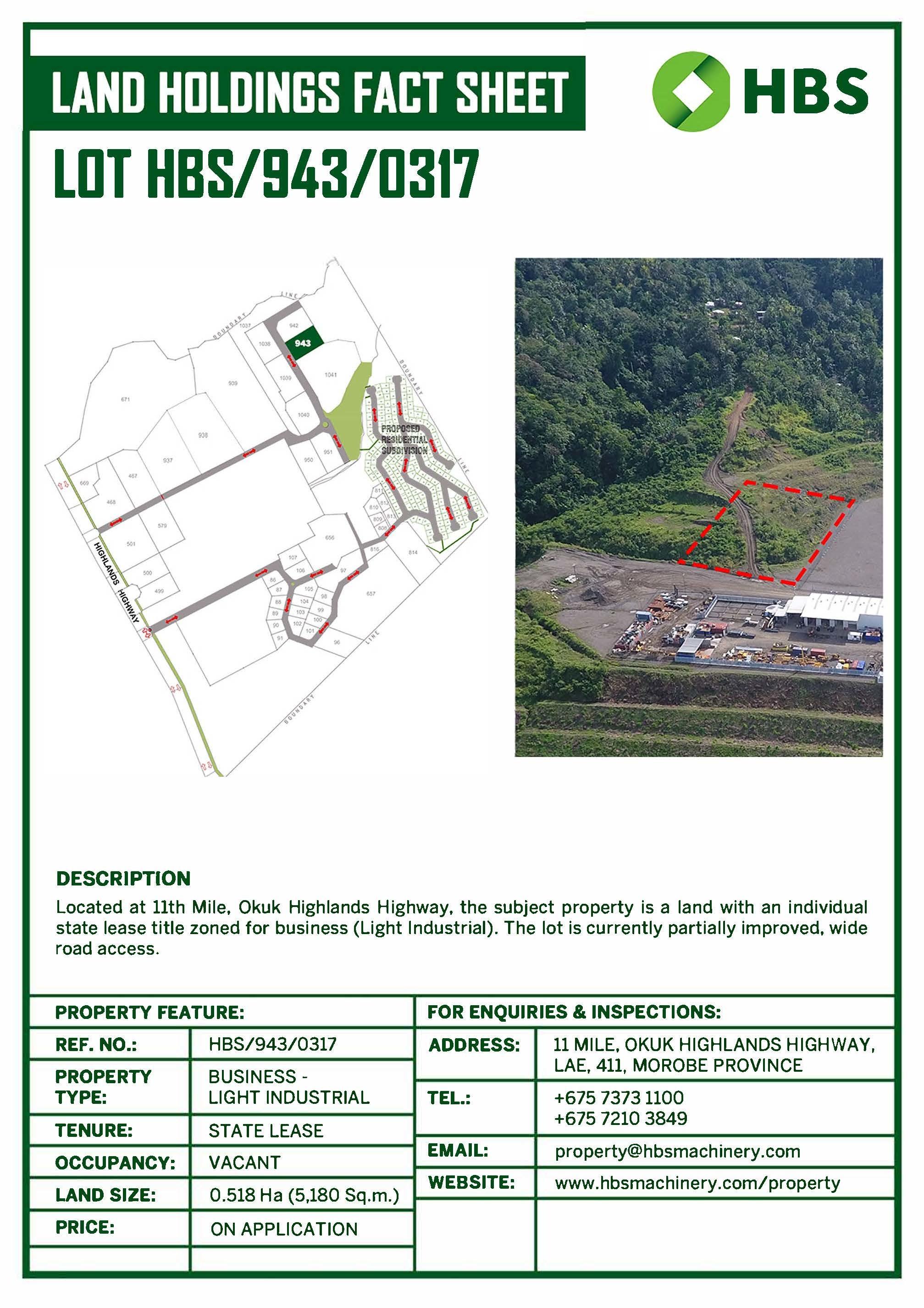 Development for sale in Lae Lae