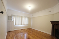 Renovated two bedroom with floor boards