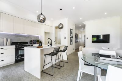 Designer transformation of a classic home