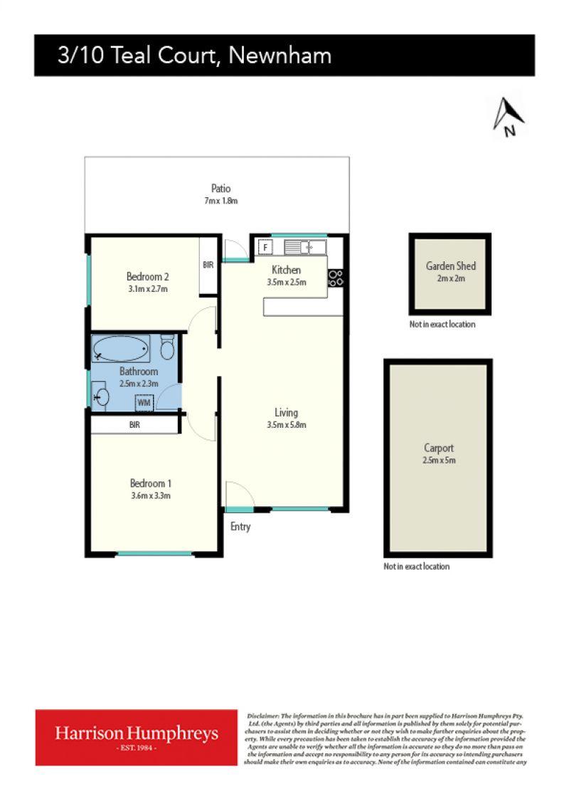 10 Teal Court Floorplan