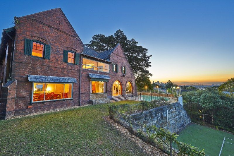 One of Sydney's grandest estates on approx 2,549sqm of blue ribbon land with iconic views, tennis court, pool and self-contained staff quarters