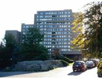 2 bedroom 2 bath unit at sought after Towers of Chestnut Hill