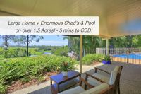 LARGE HOME on 1.5 ACRES + POOL & SHED'S!